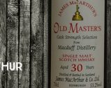 Macduff – 30yo – 53,2% – James MacArthur – Old Masters