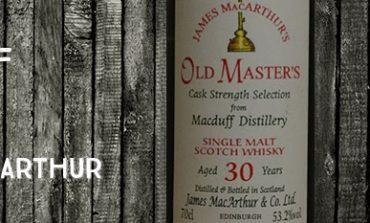 Macduff - 30yo - 53,2% - James MacArthur - Old Masters