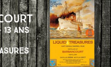 Barbancourt - 2004/2017 - 13yo - 54,6% - Liquid Treasures - Rum Session n°5 - Haiti