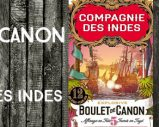 Boulet de Canon – n°5 – 12yo – 46% – Compagnie des Indes – Blend – Etats-Unis