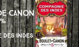 Boulet de Canon - n°5 - 12yo - 46% - Compagnie des Indes - Blend - Etats-Unis
