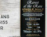 Glenugie – 1981/2005 – 23yo – 61,9% – Cask 5155 – Duncan Taylor – Rarest of the Rare