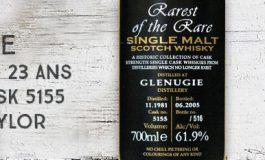 Glenugie - 1981/2005 - 23yo - 61,9% - Cask 5155 - Duncan Taylor - Rarest of the Rare