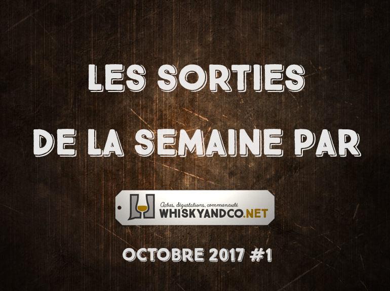 Les sorties de la semaine : octobre 2017 #1