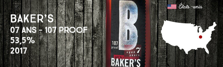 Baker's – 7yo – 107 Proof – 53,5% – Jim Beam