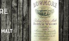 Bowmore - 1965 - 50% - OB - Islay Pure Malt