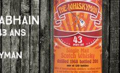 Bunnahabhain - 1968/2011 - 43yo - 46,5% - The Whiskyman - Dram Together