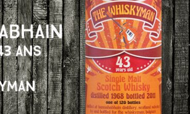 Bunnahabhain - 1968/2011 - 43yo - 46,5% - The Whiskyman - Dram Together