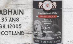 Bunnahabhain - 1976/2012 - 35yo - 56,3% - Cask 12005 - Malts of Scotland - Angel's Choice