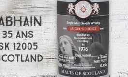 Bunnahabhain - 1976/2012 - 35yo - 56,3% - Cask 12005 - Malts of Scotland - Angel's Choice