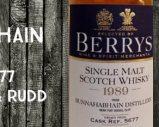 Bunnahabhain – 1989/2014 – 46% – Cask 5677 – Berry Bros & Rudd