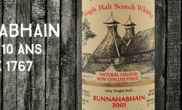 Bunnahabhain - 2001/2012 - 10yo - 46% - Cask 1767 - Van Wees - The Ultimate