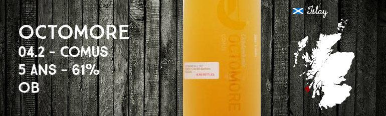 Octomore – 04.2 – Comus – 5yo – 61% – OB – Chateau Yquem