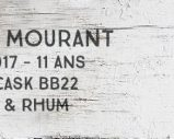 Port Mourant – 2005/2017 – 11yo – 60% – Cask BB22 – Whisky & Rhum – L'esprit – Guyana