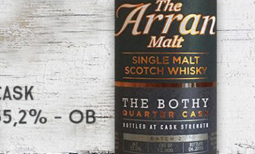 Arran - The Bothy - Quarter Cask - Batch 2 - 55,2% - OB