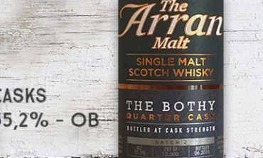 Arran - The Bothy - Quarter Casks - Batch 2 - 55,2% - OB