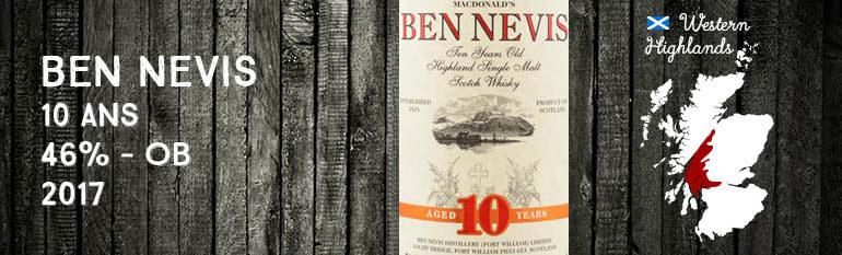 Ben Nevis – 10yo – 46% – OB – 2017