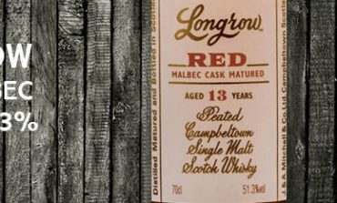 Longrow - Red - Malbec - 13yo - 51,3% - OB