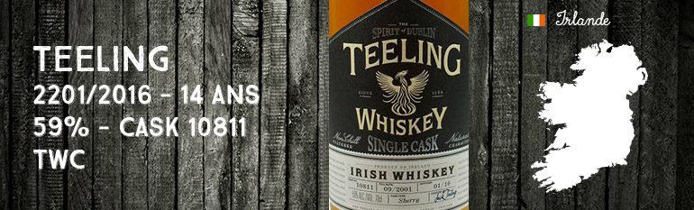 Teeling – 2001/2016 – 14yo – 59% – Cask 10811 – Teeling Whiskey Company