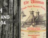 Balmenach – 1988/2014 – 25yo – 46% – Cask 2804 – Van Wees – The Ultimate