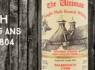 Balmenach - 1988/2014 - 25yo - 46% - Cask 2804 - Van Wees - The Ultimate