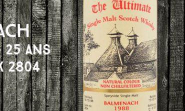 Balmenach - 1988/2014 - 25yo - 46% - Cask 2804 - Van Wees - The Ultimate