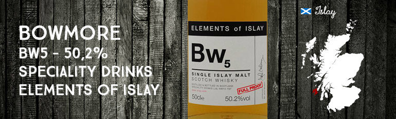 Bowmore – Bw5 – 50,2% – Speciality Drinks – Elements of Islay