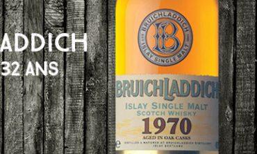 Bruichladdich - 1970/2002 - 32yo - 44,2% - OB