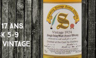 Caol Ila - 1974/1991 - 17yo - 61,1% - Casks 5-9 - Signatory Vintage - Dumpy