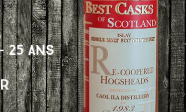 Caol Ila - 1983/2008 - 25yo - 46% - Jean Boyer - Best Casks of Scotland