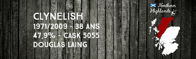 Clynelish – 1971/2009 – 38yo – 47,9% – Cask 5055 – Douglas Laing – Old Malt Cask
