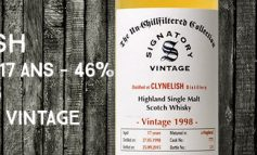 Clynelish - 1998/2015 - 17yo - 46% - Cask 7775 - Signatory Vintage - The Un-chillfiltered Collection