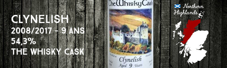 Clynelish – 2008/2017 – 9yo – 54,3% – The Whisky Cask