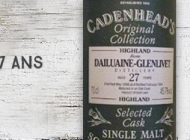 Dailuaine - 1966/1994 - 27yo - 45,7% - Cadenhead - Original Collection