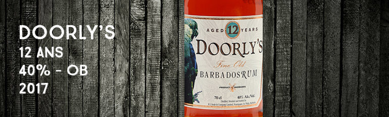 Doorly's – 12yo – 40% – OB – 2017 – Barbade