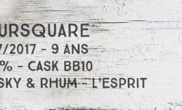 Foursquare - 2007/2017 - 9yo - 65,3% - Cask BB10 - Whisky & Rhum - L'Esprit - Barbade