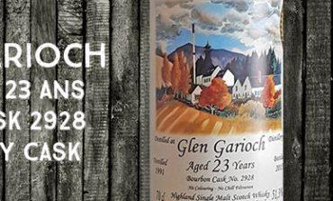 Glen Garioch - 1991/2015 - 23yo - 51,3% - Cask 2928 - The Whisky Cask