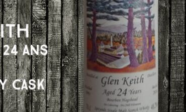 Glen Keith - 1991/2016 - 24yo - 48,2% - The Whisky Cask