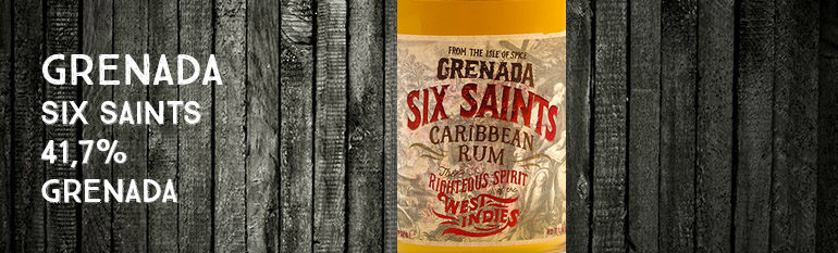 Grenada – Six Saints – Carribean Rum – 41,7% – Grenada