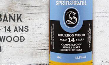 Springbank - 2002/2017 - 14yo - Bourbon Wood - 55,8% - OB