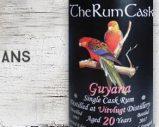 Uitvlugt – 1997/2017 – 20yo – 56,5% – The Rum Cask – Guyana