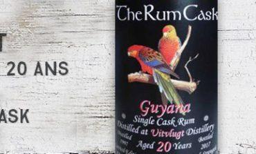 Uitvlugt - 1997/2017 - 20yo - 56,5% - The Rum Cask - Guyana