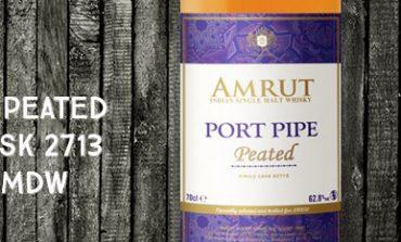 Amrut - Port Pipe - Peated - 62,8% - Cask 2713 - OB - for La Maison Du Whisky - Cellar Book