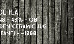 Caol Ila - 15yo - 43% - OB - Golden Ceramic Jug - Bulloch Lade & Co / Zenith-Italia Bonfanti - env. 1988