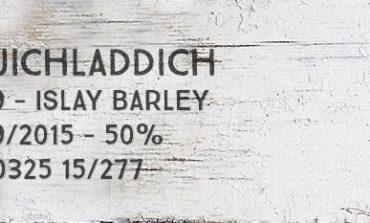 Bruichladdich - 2009 - Islay Barley - 2009/2015 - 50% - OB - L/150325 15/277