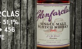 Glenfarclas - 2007/2016 - 51,1% - Casks 435 + 456 - OB - for The Whisky Exchange