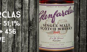 Glenfarclas - 2007/2016 - 51,1% - Casks 435 + 456 - OB - for The Whisky Exchange