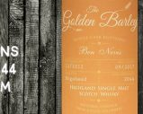 Ben Nevis – 2012/2017 – 4 ans – 45% – Cask 2044 – Whisky & Rhum – The Golden Barley