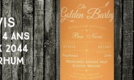 Ben Nevis - 2012/2017 - 4 ans - 45% - Cask 2044 - Whisky & Rhum - The Golden Barley