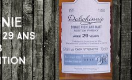 Dalwhinnie - 1973/2003 - 29 ans - 57,8% - OB - Limited Edition